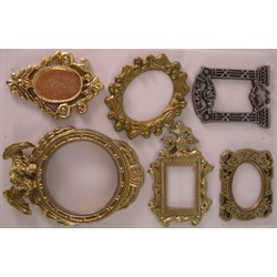 Mirror Set (6 pcs.) incl. mirror sheet - Reality in Scale - RIS 35104