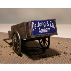 Hand Cart incl. a decal, chain and copper eyelets - Reality in Scale - RIS 35098