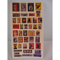 Enamel Dutch Advertising Signs - Reality in Scale - RIS 35011