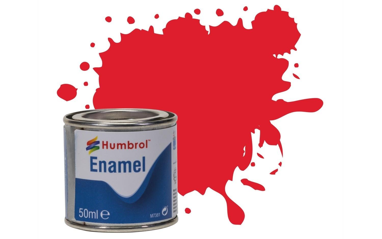 Humbrol Bright Red - Gloss - 50ml - Humbrol - HUL-Q019