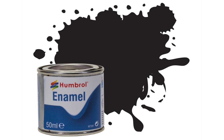 Humbrol Black - Gloss - 50ml - Humbrol - HUL-Q021