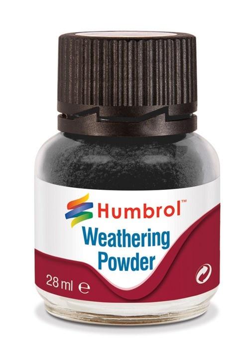 Humbrol Weathering Powder Black - 28ml - Humbrol - HUL-V001