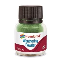 Weathering Powder Chrome Oxide Green - 28ml - Humbrol - HUL-V005