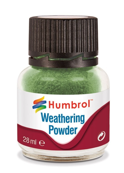 Humbrol Weathering Powder Chrome Oxide Green - 28ml - Humbrol - HUL-V005