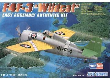 Hobbyboss F4F-3  ''Wildcat''  - Scale 1/72 - Hobbyboss - HOS80219
