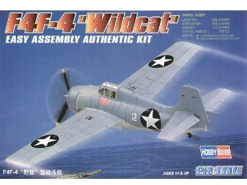 Hobbyboss F4F-4  ''Wildcat''  - Scale 1/72 - Hobbyboss - HOS80220