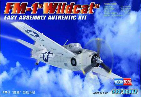 Hobbyboss Fm-1 ''Wildcat''  - Scale 1/72 - Hobbyboss - HOS80221