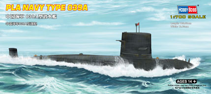 Hobbyboss Pla Navy Type 039A  - Scale 1/700 - Hobbyboss - HOS87020