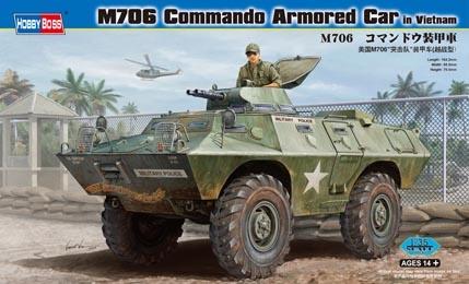 Hobbyboss M706 Commando Armored Car In Vietnam  - Scale 1/35 - Hobbyboss - HOS82418