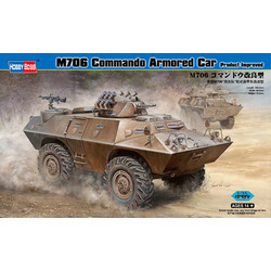 M706 Commando Armored Car Product Improved - Scale 1/35 - Hobbyboss - HOS82419