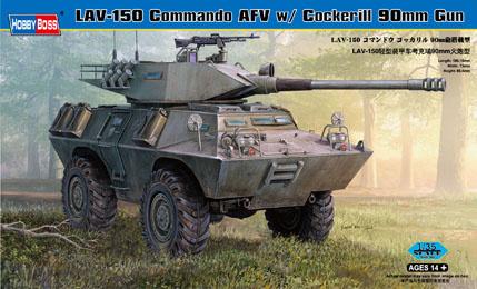 Hobbyboss Lav-150 Commando Afv Cockerill 90Mm Gun  - Scale 1/35 - Hobbyboss - HOS82422