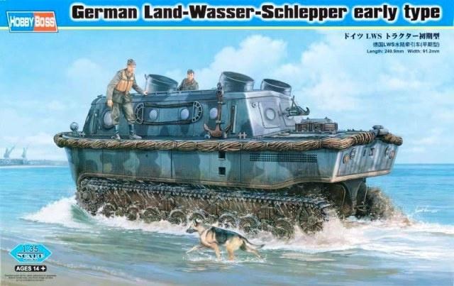 Hobbyboss German Land-Wasser-Schlepper Early Type  - Scale 1/35 - Hobbyboss - HOS82465