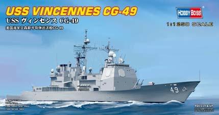 Hobbyboss Uss Vincennes Cg-49  - Scale 1/1250 - Hobbyboss - HOS82502