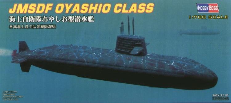 Hobbyboss Jmsdf Oyashio Class  - Scale 1/700 - Hobbyboss - HOS87001