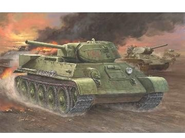 Hobbyboss Russian T-34/76 (1942 No.112) Tank  - Scale 1/48 - Hobbyboss - HOS84806