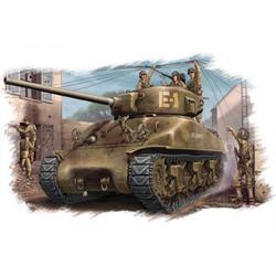 U.S M4A1 76(W) Tank  - Scale 1/48 - Hobbyboss - HOS84801