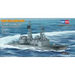 Uss Kidd Ddg-993  - Scale 1/1250 - Hobbyboss - HOS82507