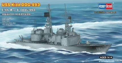 Hobbyboss Uss Kidd Ddg-993  - Scale 1/1250 - Hobbyboss - HOS82507