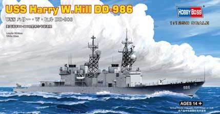 Hobbyboss Uss Harry  W. Hill D-986  - Scale 1/1250 - Hobbyboss - HOS82506