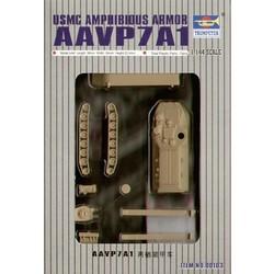 Aav7A1 Amphibienfahrzeug  - Scale 1/144 - Trumpeter - TRR 0103