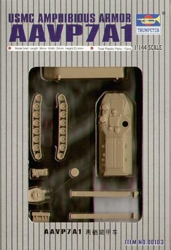 Trumpeter Aav7A1 Amphibienfahrzeug  - Scale 1/144 - Trumpeter - TRR 0103