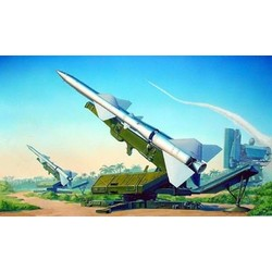 Sa-2 Guideline Missile W/Launcher Cabin  - Scale 1/35 - Trumpeter - TRR 206