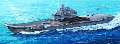 Trumpeter Ussr Ac Admiral Kuznetsov  - Scale 1/350 - Trumpeter - TRR 5606