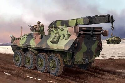 Trumpeter Usmc Lav-R Light Armored Veh.Recovery  - Scale 1/35 - Trumpeter - TRR 370