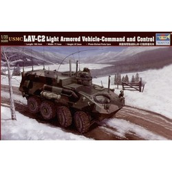 Usmc Lav-C2 Command & Control Vehicle - Scale 1/35 - Trumpeter - TRR 371
