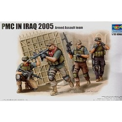Pmc In Iraq - Fire Movement Team  - Scale 1/35 - Trumpeter - TRR 419