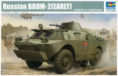 Trumpeter Russian Brdm-2 Early  - Scale 1/35 - Trumpeter - TRR 5511