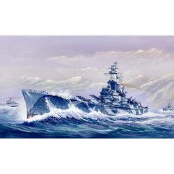 Uss Alabama (Bb-60)  - Scale 1/700 - Trumpeter - TRR 5762