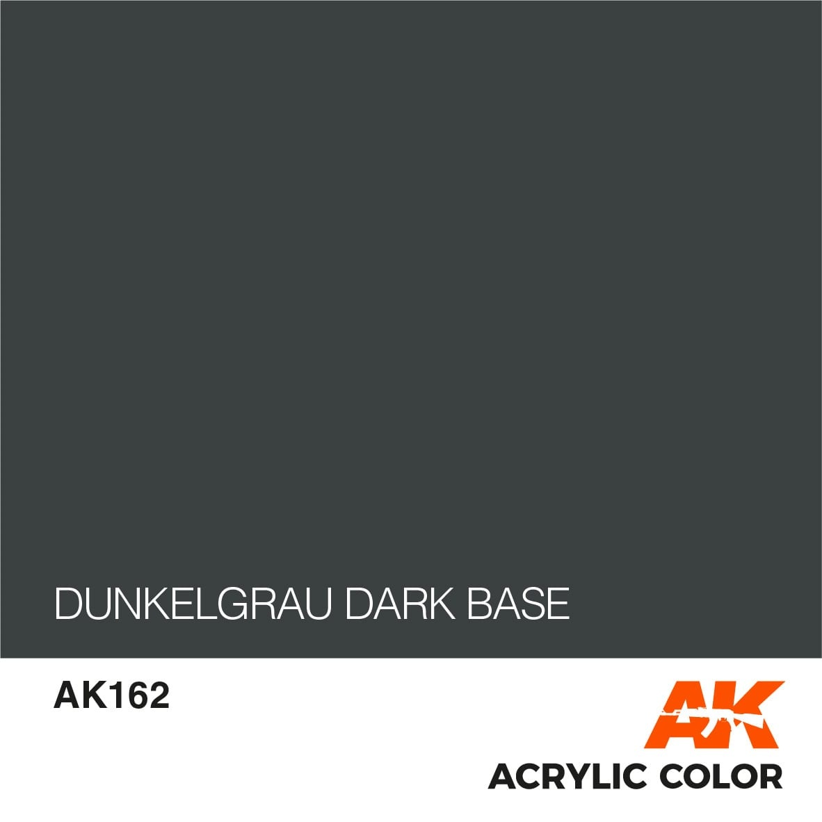 AK-Interactive Dunkelgrau Dark Base - 17ml - AK-Interactive - AK-162