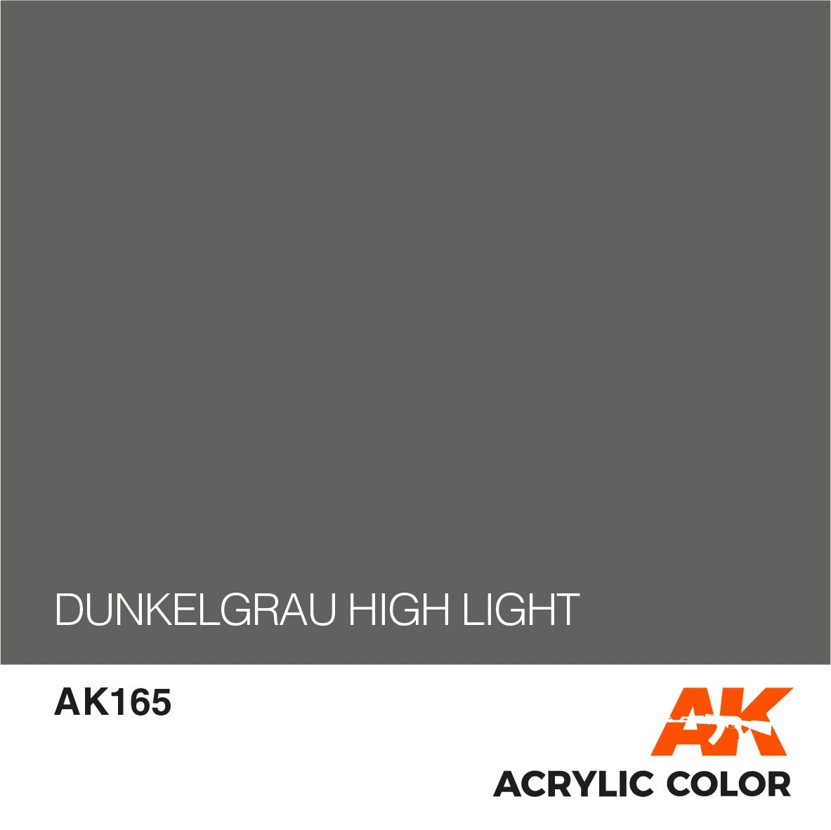 AK-Interactive Dunkelgrau High Lights - 17ml - AK-Interactive - AK-165
