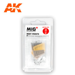 Boot Prints  Russian Modern Boots - Scale 1/35 - Mig Productions - MP35-408