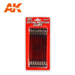 Metal Painting Clips - AK-Interactive - AK-9127