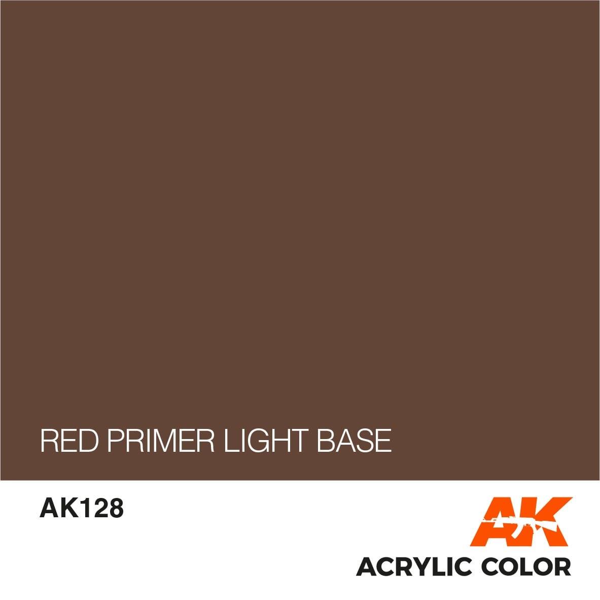 AK-Interactive Red Primer Light Base - 17ml - AK-Interactive - AK-128