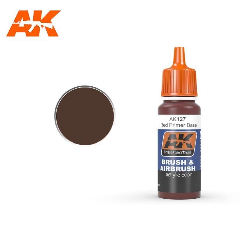 AK-Interactive Red Primer Base - 17ml - AK-Interactive - AK-127