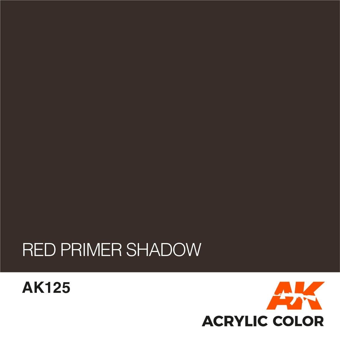 AK-Interactive Red Primer Shadow - 17ml - AK-Interactive - AK-125
