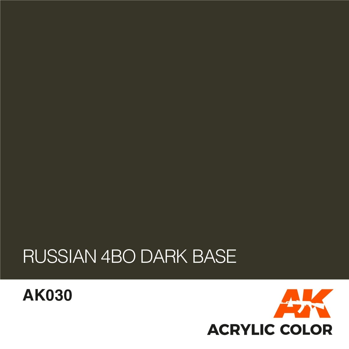 AK-Interactive Russian 4B0 Dark Base - 17ml - AK-Interactive - AK-030