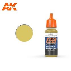 Dunkelgelb High Lights - 17ml - AK-Interactive - AK-008