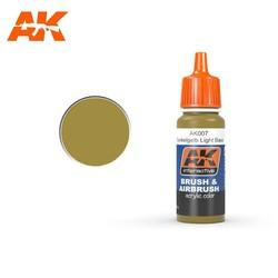 Dunkelgelb Light Base - 17ml - AK-Interactive - AK-007