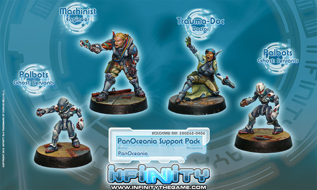 Infinity PanOceania Support Pack  - Infinity - CVB 280262-0406