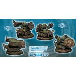 Traktor Muls. Regiment of Artillery and Support - Infinity - CVB 280150-0323