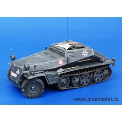 Sd. Kfz 252 ammunition Car - Scale 1/35 - Plusmodel - PLL107