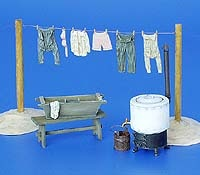 Plus Model Laundry - Scale 1/35 - Plusmodel - PLL 153