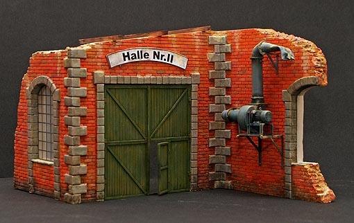 Plus Model Factory Gate - Scale 1/35 - Plusmodel - PLL 196