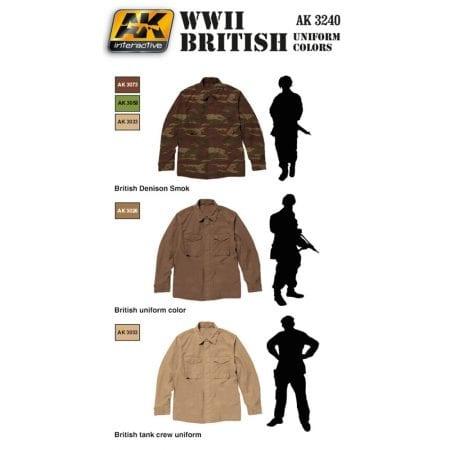 AK-Interactive Modern Desert Uniform Colors - AK-3220