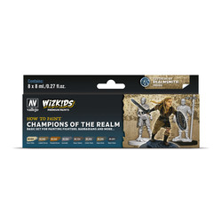 Wizkids set: Champions of the Realm - 8 x 8ml - Vallejo - VAL-80250
