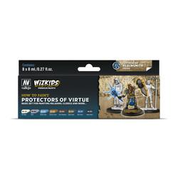 Wizkids set: Protectors of Virtue - 8 x 8ml - Vallejo - VAL-80252